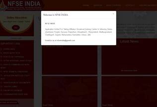 Website nfse.in desktop preview