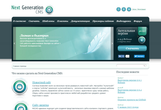 Website ngcms.ru desktop preview