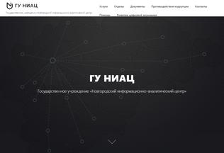 Website niac.ru desktop preview