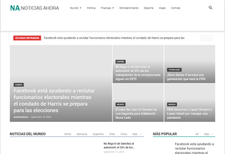 Website noticiasahora.org desktop preview