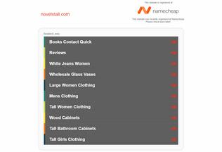 Website novelstall.com desktop preview