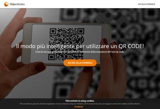 Website objectlinks.biz desktop preview
