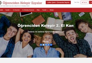 Website ogrencidenkelepir.com desktop preview