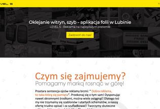 Website oklejaniewitryn.lubin.net.pl desktop preview