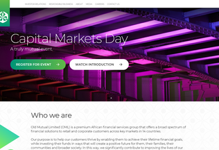 Website oldmutual.co desktop preview