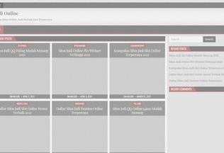 Website omegarock.net desktop preview