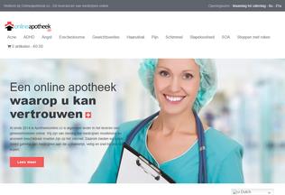 Website onlineapotheek.co desktop preview