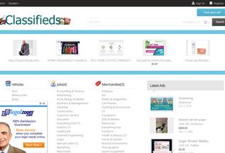 Website onlineclassifieds.pro desktop preview