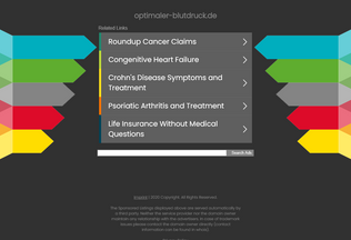 Website optimaler-blutdruck.de desktop preview