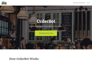Website orderbot.my desktop preview