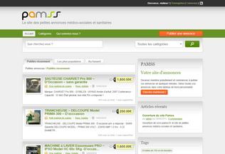 Website pamss.fr desktop preview