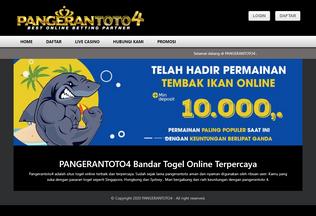 Website pangerantoto4.co desktop preview
