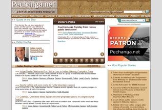 Website pechanga.net desktop preview