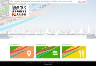 Website percorsiprovinciats.it desktop preview