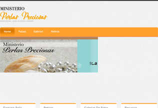Website perlas-preciosas.org desktop preview