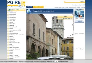 Website pgire.it desktop preview