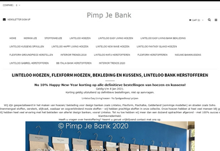 Website pimpjebank.nl desktop preview