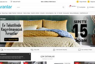 Website piranlar.com.tr desktop preview