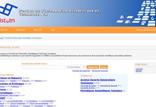 Website pist.tn desktop preview