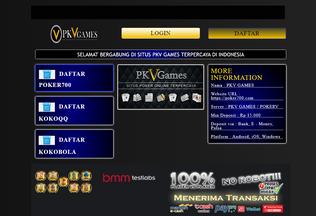 Website pkvgames.wildapricot.org desktop preview