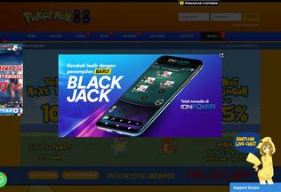 Website pokermon88.asia desktop preview