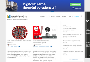 Website poradci-sobe.cz desktop preview