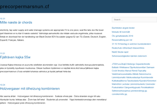 Website precorpermarsnun.cf desktop preview