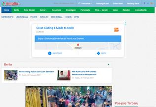 Website primalia.id desktop preview