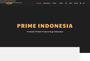 Website primeindonesia.id desktop preview
