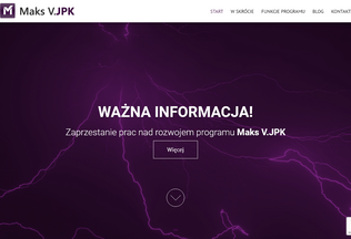 Website programjpk.pl desktop preview