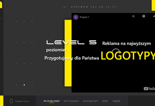 Website projektlogo.pl desktop preview