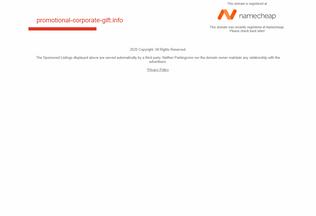 Website promotional-corporate-gift.info desktop preview