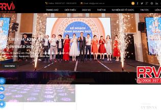 Website prviet.com.vn desktop preview