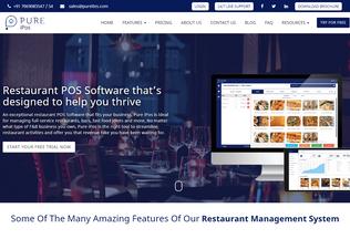 Website pureipos.com desktop preview