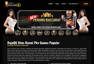 Website qiuraja.com desktop preview