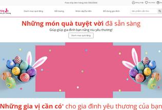 Website quatangvo.com desktop preview