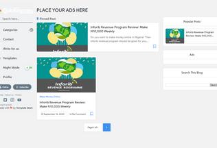 Website quickmoney.ng desktop preview