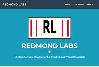 Website redmondlabs.com desktop preview