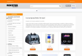Website rekster.eu desktop preview