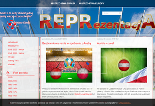 Website repra.pl desktop preview