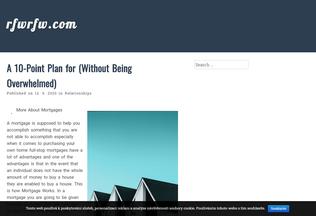 Website rfwrfw.com desktop preview