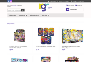 Website rgrdistribuidora.com.br desktop preview