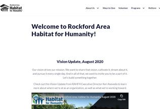 Website rockfordhabitat.org desktop preview
