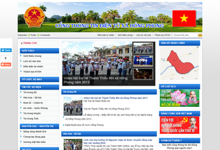 Website roinuochongphong.com desktop preview