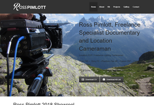 Website rosspimlott.co.uk desktop preview