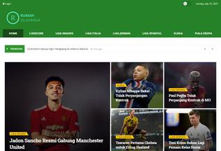 Website rumaholahraga.com desktop preview