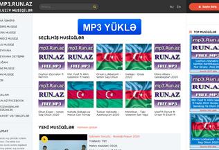 Website run.az desktop preview