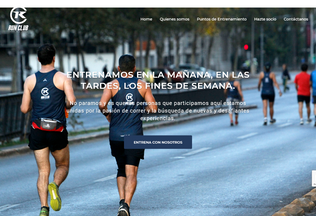Website runclub.cl desktop preview