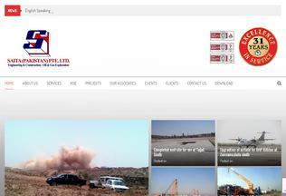 Website saita.pk desktop preview