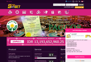 Website saktibet.me desktop preview